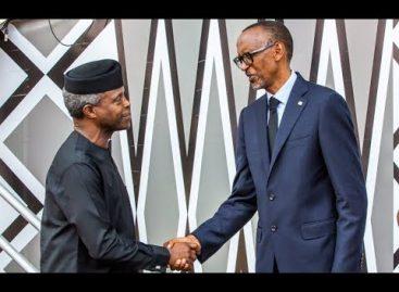 Osinbajo attends President Kagame's inauguration