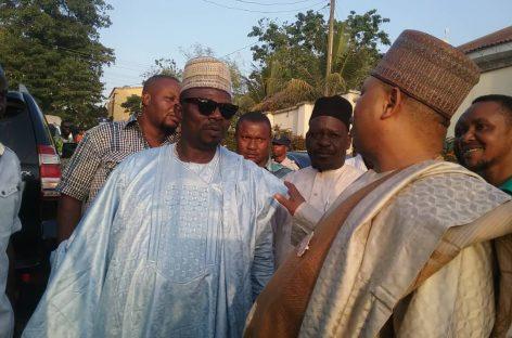 Ex- Edo Deputy Governor, Odubu Visits RTEAN boss, Eriyo