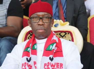2019: Let Us Achieve 100% Victory Okowa Charges Party Members