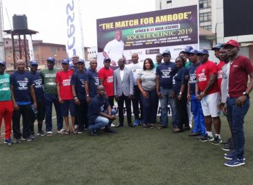 Ambode soccer clinic: Siasia, Mutiu, Fashanu, others train 1000 Youths