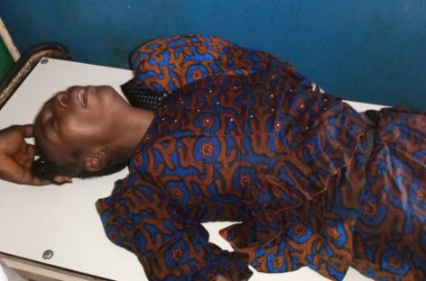 (Video)Woman collapses at Mararba Polling Unit