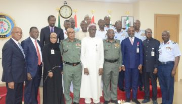 NNPC GMD Commends Armed Forces of Nigeria For Securing Nigeria's Oil Sector
