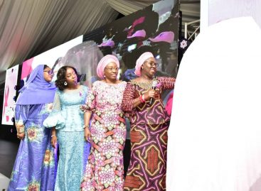 Mrs. Akeredolu, Erelu Fayemi, Others Unveil FLAC Logo in Lagos