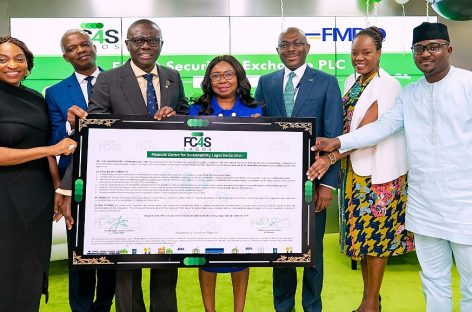 SANWO-OLU CALLS FOR INCLUSION AS HE LAUNCHES FINANCIAL CENTRE FOR SUSTAINABILITY