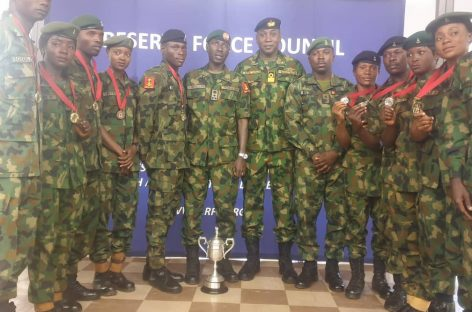 Nigeria Armed Forces contingent make the Nation proud at International Military Sporting Event