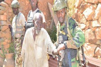 (Photo speaks)Nigeria Troop rescues Octogenarian, others in heavy Boko Haram defeat