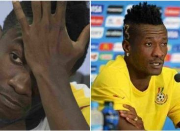 Breaking News: Black Stars, Asamoah Gyan claims broke