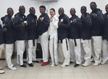 2020 Olympics: Binga storms Russia for World Taekwondo Refs selection, training camp