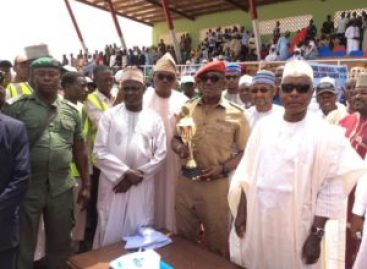DALUNG, MASARI COMMISSION DAURA MINI STADIUM
