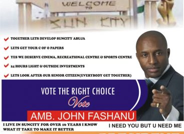 Fashanu enters race for Sun City Presidential election