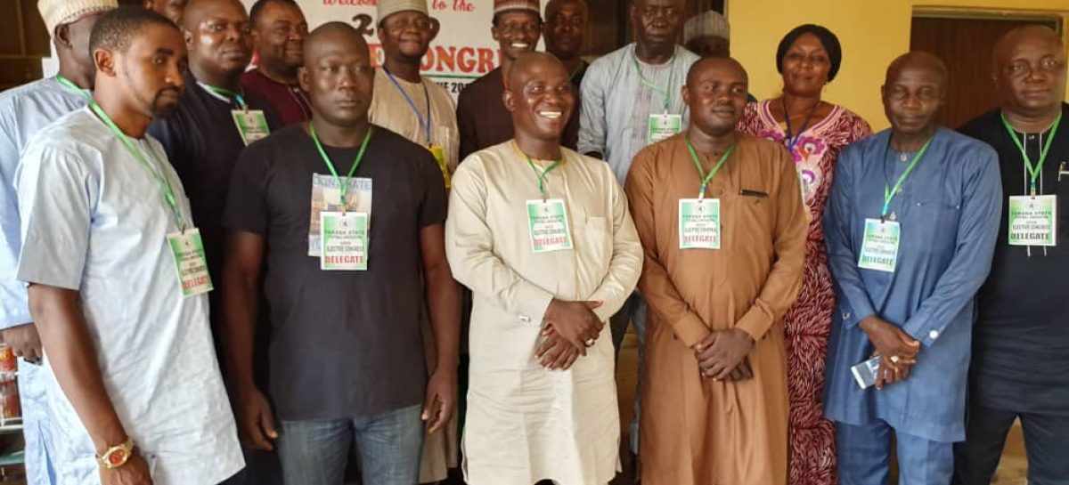 Jubilation in Jalingo over the emergence of New FA Chairman