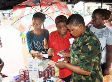 (Photo speaks)NAF FLAGS OFF 2-DAY MEDICAL OUTREACH IN IRHIRHI COMMUNITY, EDO STATE
