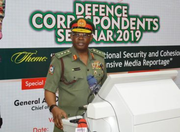 CDS URGES MEDIA TO PARTNER ARMED FORCES ON NATIONAL SECURITY