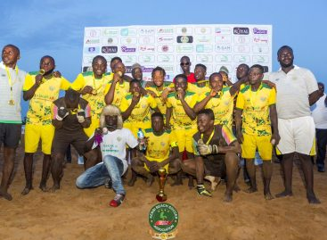 World Winners Cup: Kebbi Beach Soccer Club Resume Camping
