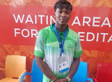 MY ULTIMATE DREAM IS OLYMPIC GOLD-UCHE EKE