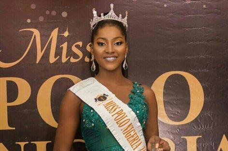 Miss Polo International beauty pageant : Nigerian Okoye Precious arrives Dubai