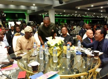 PHOTO NEWS: GOV. SANWO-OLU ATTENDS THE 'PLATFORM NIGERIA' AT THE COVENANT PLACE, IGANMU, ON TUESDAY, OCTOBER 1, 2019.