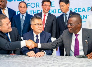 LEKKI SEAPORT: CHINESE INVESTOR INJECTS $629 MILLION TO COMPLETE PROJECT