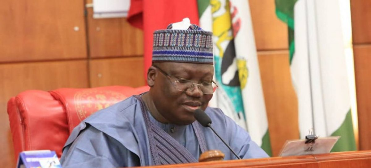 'As you celebrate, be mindful of the risk of COVID-19', Lawan tells Muslim faithfuls
