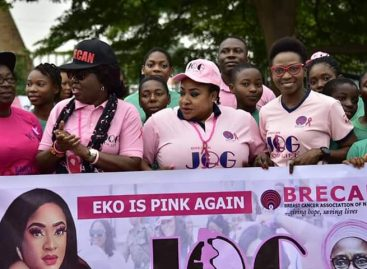 Mrs Akeredolu, Nollywood Actress, Foluke Daramola lead others to Jog for life in Lagos