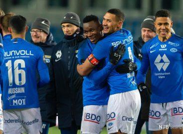 Nigerian Leke James emerges Norwegian football league lead scorer