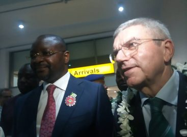 IOC president arrives, wishes Nigeria successful participation at the Tokyo Olympics