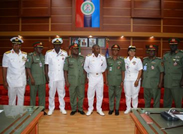 DEFENCE HEADQUARTERS DECORATE RECENTLY PROMOTED BRIGADIER GENERALS COMMODORES