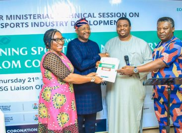 'Stimulating the interest in sports and for sporting activities is major'-Sports Minister