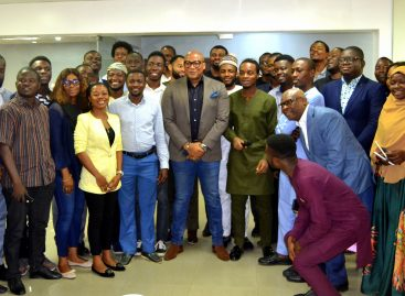 Interswitch boss mentors 35 young entrepreneurs at CcHUB