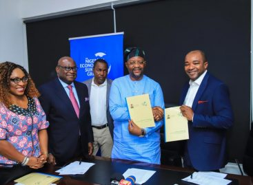 Ministry of Youth and Sports Development signs MoU with NESG