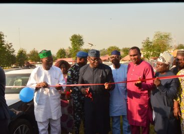 FAYEMI DISTRIBUTES 141 VEHICLES TO GOVERNMENT OFFICIALS