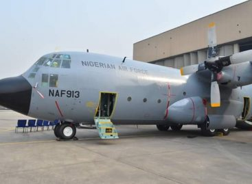 NAF COMMISSIONS ANOTHER C-130H AIRCRAFT