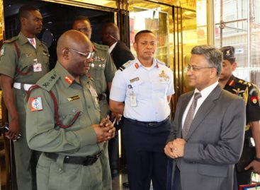 INDIAN SEEKS INCREASED DEFENCE COLLABORATION WITH NIGERIA