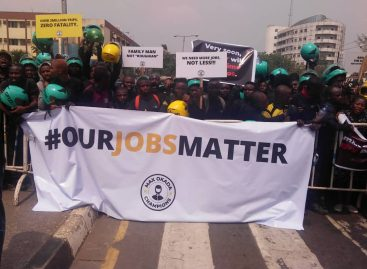 Commercial motorcyclists protest at Lagos Assembly, demand regulation not ban