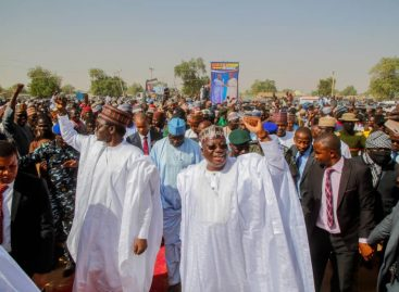 Senate President flags off empowerment program for constituents in Yobe