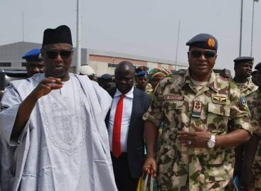 Chief of Air Staff assures Niger Governor of NAF's continued support