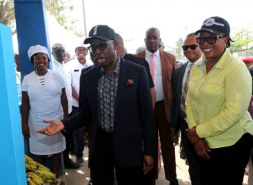 Okowa wants more partnership in promoting clean environment