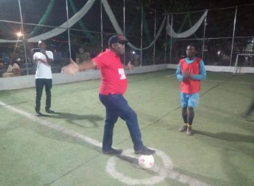 Proud Owner reveals what motivated him to build the PSI 5-Aside Football facility