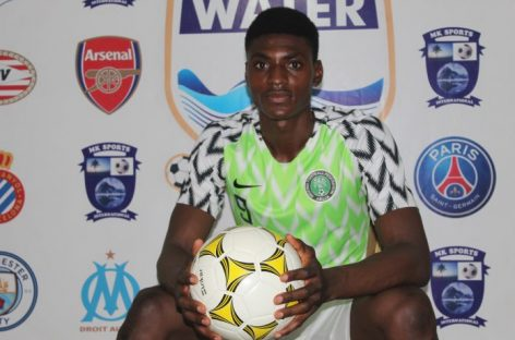 Clubs in Europe jostle for the service of 6 foot plus Promising Nigerian striker