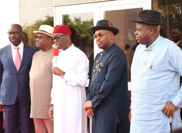 South-South governors to set up regional security