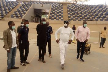 COVID-19: Sunday Dare Provides 57 Suites, Other  Facilities for Use at Moshood Abiola Stadium
