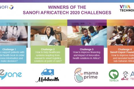 SANOFI ANNOUNCES 5 WINNERS OF AFRICATECH 2020