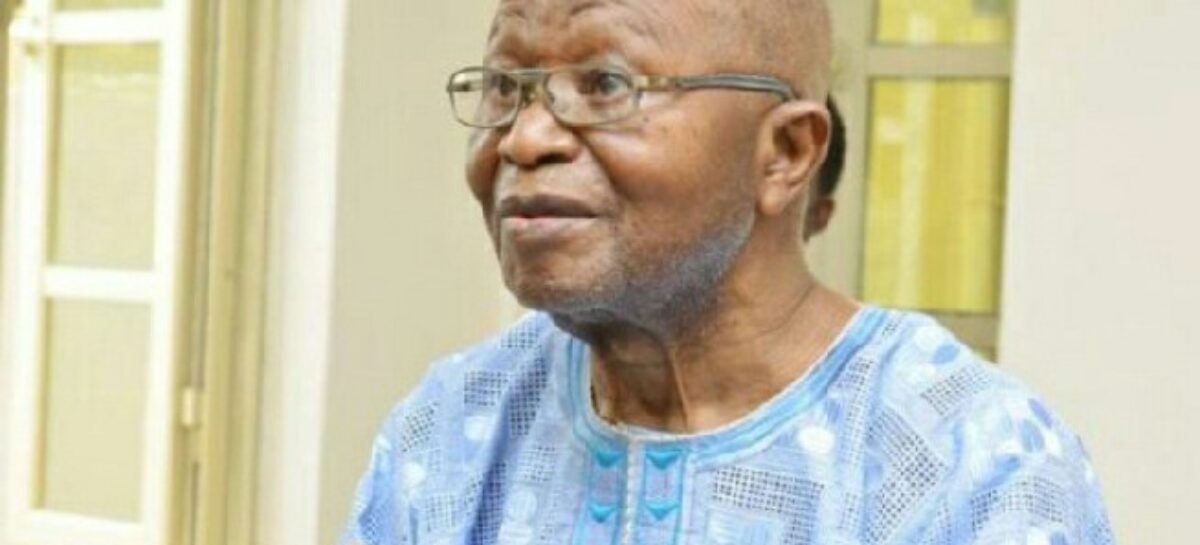 Father of Former Deputy Chief of Protocol, Ministry of Foreign Affairs, Victor Adekunle Adeleke passes on