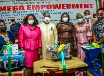 COVID-19: LAGOS EMPOWERS 1,100 VULNERABLE WOMEN, RESIDENTS WITH WORKING TOOLS