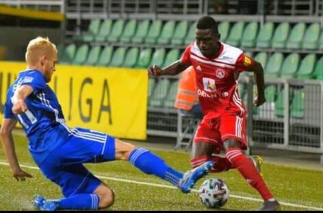 I Want To Score More Goals- Says Ghali