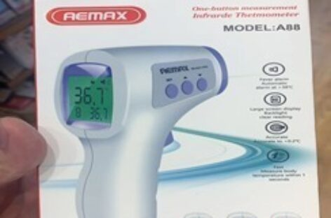 Chinese companies donate face masks, thermometers to BFN