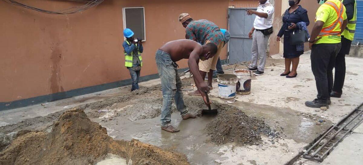LASEMA commences reconstruction of Opebi Helicopter crash site