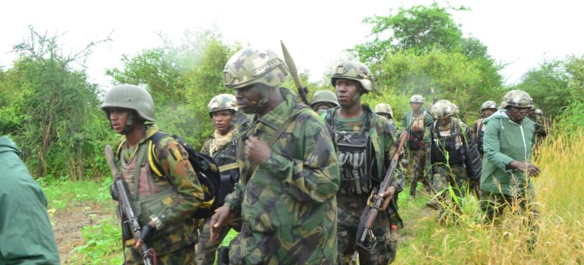 OPLD Troop Decimates Boko Haram/ISWAP fighters, rescue Kidnapped victims in Bornu