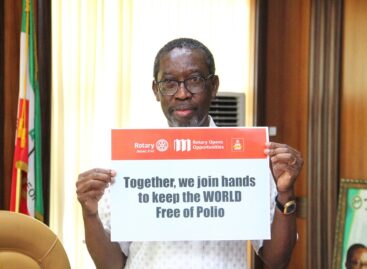 Okowa calls for efforts to keep Polio at zero level