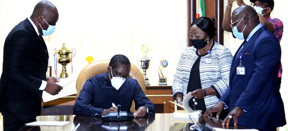 Okowa signs violence against persons, local content Bills